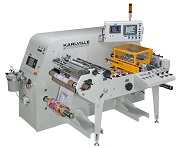 Seaming machine for shrink labels